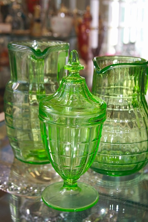 Pottery Glass Silver Cannery Row Antique Mall