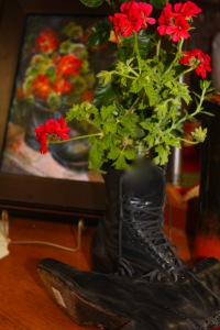 flowers:boots