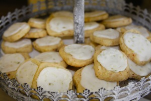 Coconut Lime Shortbread