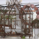 Iron French Birdcage